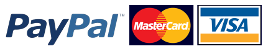 PayPal MasterCard Visa